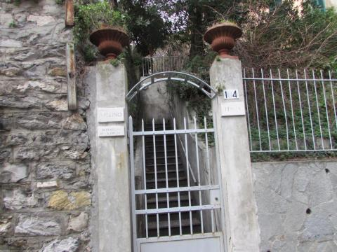 Ingresso da Via Carrara